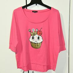 Toki Doki Cupcake T-shirt Great condition. tokidoki Tops Tees - Short Sleeve