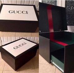 7b83c6892a giant gucci shoe box Gucci Shoes, Cheap Storage, Diy Storage, Storage Boxes,