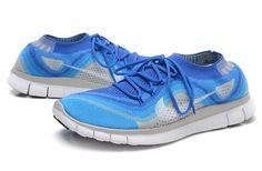 Mens Free Flyknit+ Royal Tinker Hatfield, Free Running Shoes, Nike Flyknit, Nike Basketball, Nike Free, Blue Grey, Kicks, Sneakers Nike, Footwear