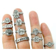 Star Wars rings from Love and Madness