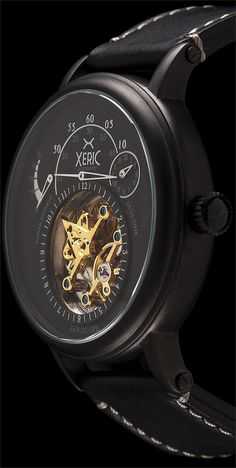 Xeric Xeriscope All Black Automatic - Free Worldwide Shipping from Watchismo.com