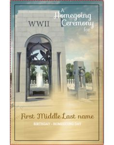 WW II Classic Template Front Panel