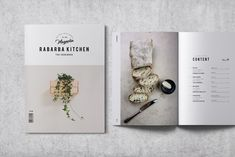 Cookbook / Recipe Book designed by Brochure Design. the global community for designers and creative professionals. Recipe Book Design, Cookbook Design, Menu Design, App Design, Layout Design, Design Brochure, Creative Brochure, Brochure Template, Brochure Ideas