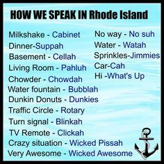 Rhode Island Speak                                                                                                                                                                                 More