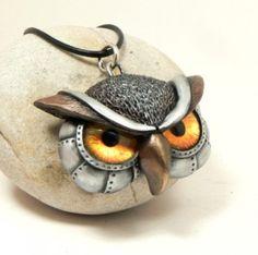 Image result for chibi owl pendant