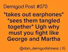 Why must they fight like George and Martha