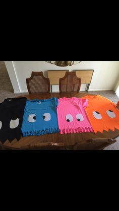 Pac-man costume t-shirts. Super easy pacman                                                                                                                                                                                 More