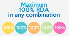 Maximum RDA in Any Combination: Did you know that with Boost Buddy Multivitamins you will never exceed the Recommended Daily Allowance (RDA) of any combination of 4 vitamin boosts you choose? Do Love, Exceed, Vitamins And Minerals, Did You Know, Knowing You, The 100, Names, Marketing