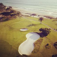 Vale do Lobo Ocean Course, Portugal. Designed by Sir Henry Cotton and opened in 1968.