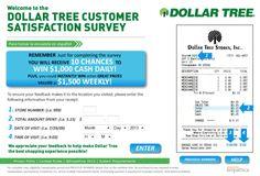 Dollar Tree Customer Satisfaction Survey, www.dollartreefeedback.com