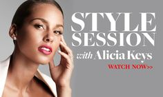 """Last week singer Alicia Keys sat down with Joe Zee for an exclusive interview in her recording studio as she prepares to release her sixth album next year. While Zee and Keys chatted about her singular style (she has an impressive collection of hats and loves to rock her braids on the red carpet), joked about having the Grammy award-winning singer write a free song for the channel, and even performed a duet of her latest single, """"We Are Here"""". 