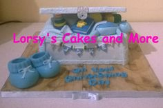 Boys Christening Toybox