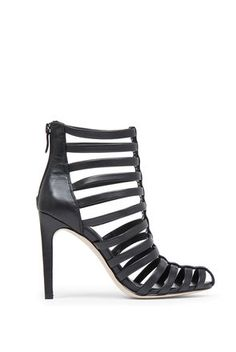 Conga High-Heel Cage Bootie