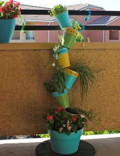 Balcony Herb Garden | Just Two Crafty SistersJust Two Crafty Sisters