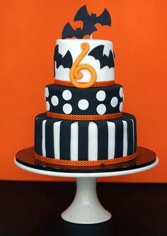 butter hearts sugar: Halloween Birthday Cake