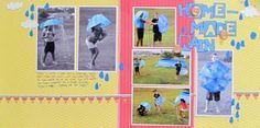 6 Reasons to Mix Color Photos with Black-and-Whites on Your Scrapbook Pages   Page by Christy Strickler   GetItScrapped.com/blog