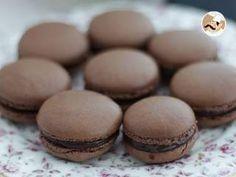 Macarons de chocolate, receta y consejos