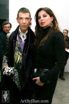 Web Tv Shows Ilian Rachov and Alba Parietti http://www.artbyilian.com/