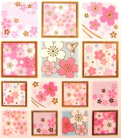 Beautiful Japanese Stickers Sakura Cherry by FromJapanWithLove, $6.75