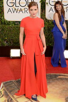 Emma Watson #atrevete Globos de Oro