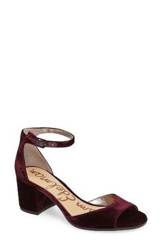 04467ab3d37 Free shipping and returns on Sam Edelman Susie d Orsay Ankle Strap Sandal  (Women