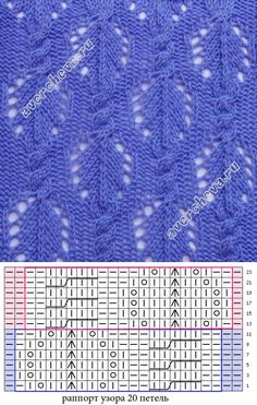 This Pin was discovered by Gab Lace Knitting Stitches, Lace Knitting Patterns, Knitting Charts, Lace Patterns, Easy Knitting, Stitch Patterns, Knitting Dolls Clothes, Knit Jacket, Knit Sweaters