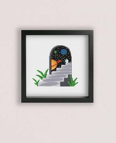 Hey, I found this really awesome Etsy listing at https://www.etsy.com/listing/540542199/doorway-to-space-cross-stitch-pattern