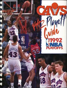 Cleveland Cavaliers 1992 NBA playoff media guide