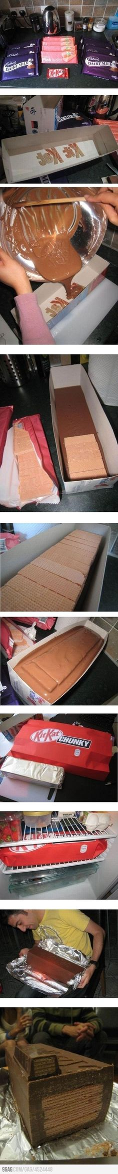 Kit Kat CHUNK :: my boyfriend might get this as a gift one day. xD