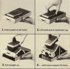 How to open the SX-70. From the camera's manual.