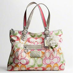 Poppy by Coach Purses 2011 | Coach Poppy Dream C Glam Tote 16697