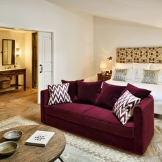 Superb Soho House Istanbul. Burgundy CouchMaroon CouchBurgundy Living RoomBurgundy  BeddingBurgundy ...