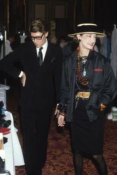 The Ever Stylish Loulou de la Falaise Was Far More Than Just Yves Saint Laurent's Muse Photos | W Magazine