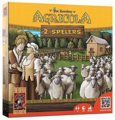 Agricola: 2 Spelers, MeepleLand Leuk thema, Veel waar voor je geld (houten speelstukken), speelt lekker weg met voldoende strategie.