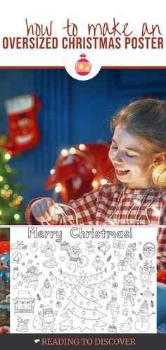 Countdown to Christmas Posters | Reading to Discover Preschool Christmas Activities, Toddler Preschool, Toddler Activities, Preschool Activities, Engineer Prints, Black And White Prints, Christmas Countdown, Advent