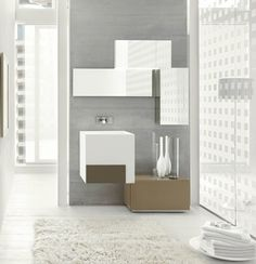 LINE 10 BATHROOM CABINETRY BY ARCOM ITALY | Ambient Bathrooms