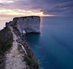 Old Harry's Rocks, Dorset, southern England. (Mark Jones flickr)