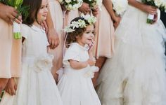 This flower girl ima