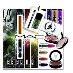 """""""MAC's Out-of-This-World Star Trek Collection"""" by fatal-poison-4-u ❤ liked on Polyvore featuring beauty and MAC Cosmetics"""