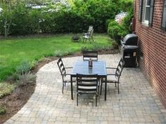 our 319 patio makeover complete with loungers a fire pit - Outdoor Patio Ideas On A Budget