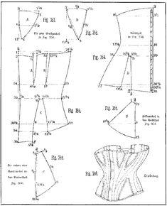 corset, 1885