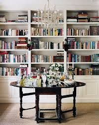 round foyer/library table