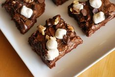 One of the greatest brownies on earth: Rocky Road Brownies!