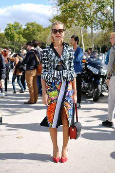 Natalie Joos wears Peter Pilloto