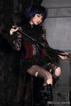 2c7d7ed312 Wholesale - 2014 RQ-BL Women s gothic Fashion Punk Underbust Corset Gothic  Bondage Girdle