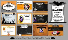 Halloween costume award certificate template halloween costume 13 free printable halloween certificates to give out at halloween costume parties or to friends on halloween yadclub Choice Image