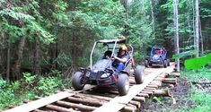 Orillia, ON- You Can Ride Dune Buggies Along This Forest Trail In Ontario Practical travel advice and tips Take few items with you If you're real Forest Trail, Forest Path, Weekend Trips, Day Trips, Weekend Getaways, Ontario Travel, Dune Buggies, Summer Travel, Summer Bucket