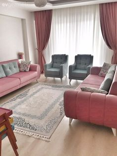 Ideas You Will Be Inspired For Sofa Sets Color Combinations - Home Decor Home Living Room, Living Room Decor On A Budget, Sofa Design, Living Room Decor Apartment, Room Color Combination, Apartment Decor, Sofa Set Designs, Room Colors, Home Decor Furniture
