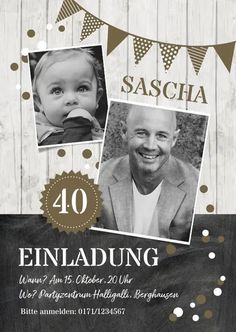 Geburtstagseinladung Kontraste olive 40 – Einladungskarten Birthday invitation contrasts olive 40 – invitation cards card Get more photo about subject related with by looking at photos gallery at the bottom of this page. We… Continue Reading → 25th Birthday, Happy Birthday Cards, Diy Birthday, Birthday Design, Birthday Greetings, Free Birthday Invitations, Fun Wedding Invitations, Mermaid Invitations, Invitation Design