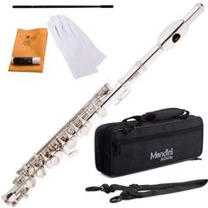 High Quality SKY Nickel Plated Piccolo Flute Band Approved.